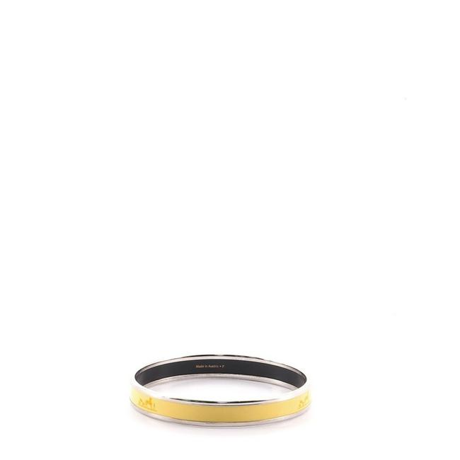 Item - Yellow Caleche Bangle Enamel Narrow Bracelet