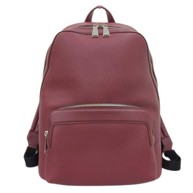 Item - Marco Polo Calf Rucksack 585931 Leather Red Color / White Backpack