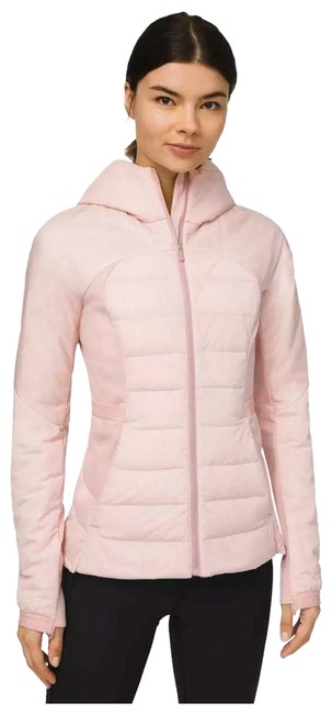 Item - Pink Down For It All Porcelain Activewear Outerwear Size 6 (S)