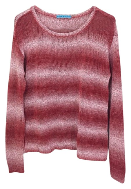 Item - Ethan Boxy Long Sleeve Red Sweater