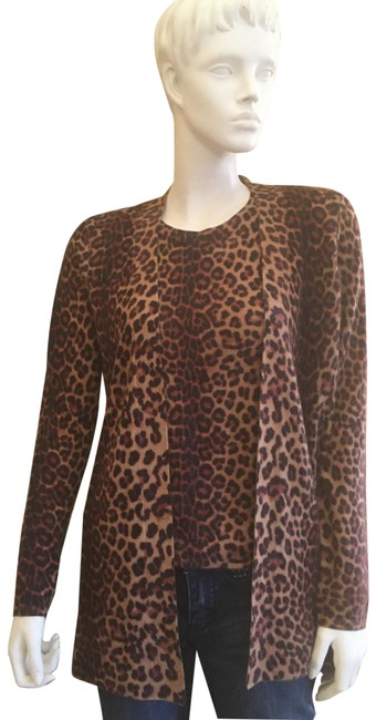 Item - Cashmere Brown and Black Sweater