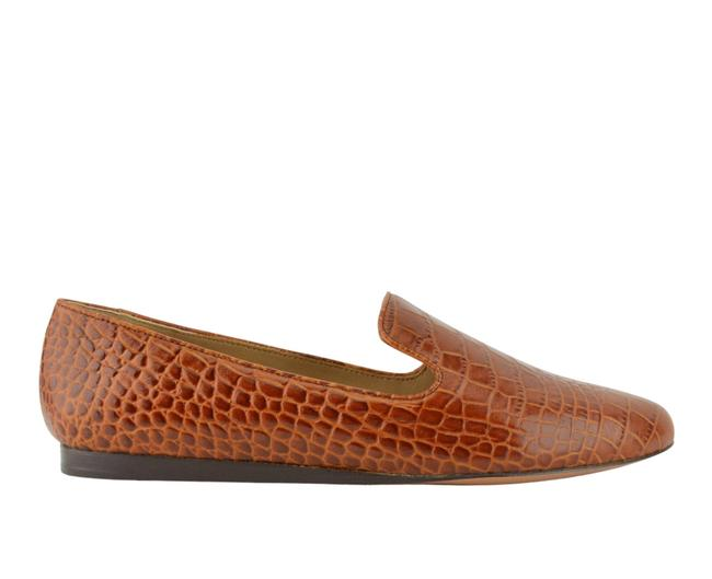 Item - Brown Embossed Loafers Flats Size US 11 Regular (M, B)