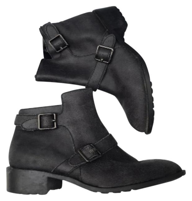 Item - Dark Gray Rooney Leather Boots❤️ Boots/Booties Size US 7.5 Regular (M, B)