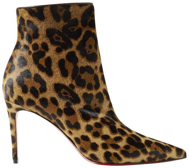 Item - Leopard Print So Kate 85 Calf Hair Ankle Boots/Booties Size EU 37 (Approx. US 7) Regular (M, B)