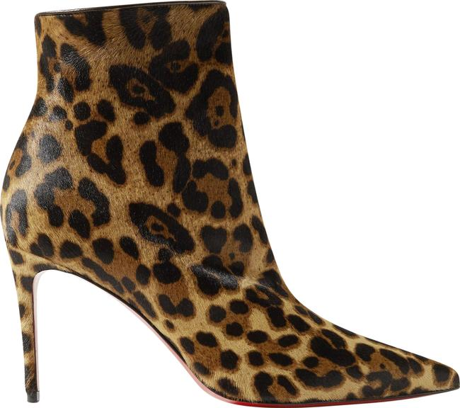 Item - Leopard Print So Kate 85 Calf Hair Ankle Boots/Booties Size EU 41 (Approx. US 11) Regular (M, B)