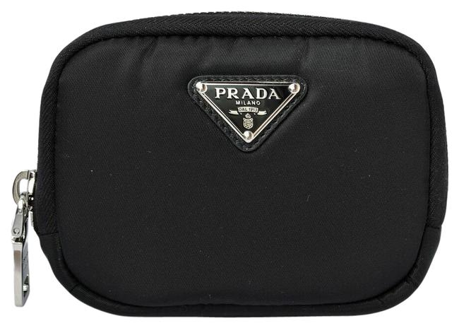 Item - Black / Nero Pouch Case Multi-pouch Pocket Tesuuto Nylon 1ml046 Wallet