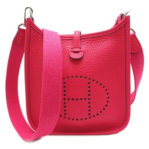 Item - Hermès Evelyne Tpm Amazon Ladies Rose Extreme Pink Taurillon Clemence Leather Shoulder Bag