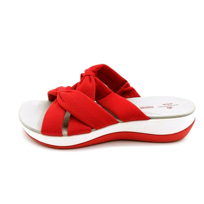 Red Jersey Cloudsteppers By Womens Arla Dristi Slide Sandals