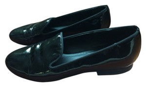 Kelsi Dagger Patent Leather Loafer Slipper Penny Loafer Slip-on Black Flats