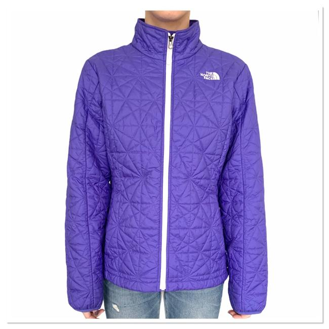 Item - Purple Quilted Jacket Size 14 (L)