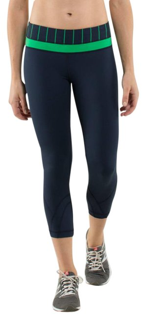 Item - Inkwell Green Bean Inspire Crop Ii Luxtreme Activewear Bottoms Size 8 (M, 29, 30)