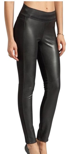 Item - Black Paloma Ponte Vegan Leather Leggings Size 8 (M, 29, 30)