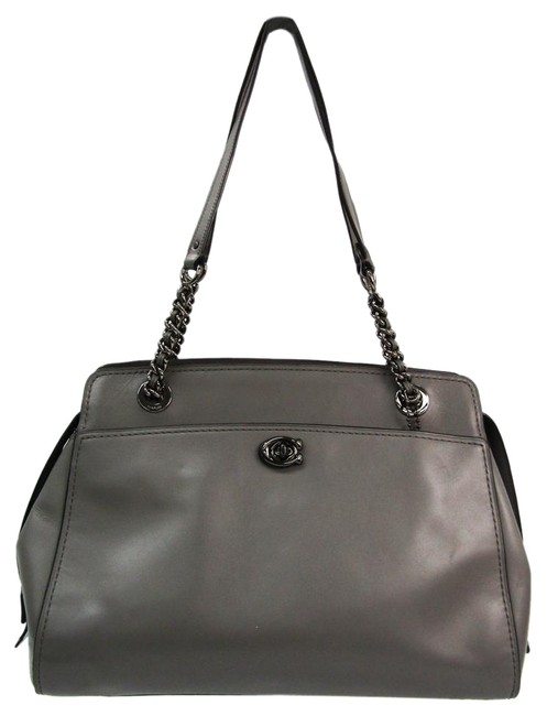Item - Carryall Bag Boutique Line Hoodie 35575 Women's Gray Leather Tote