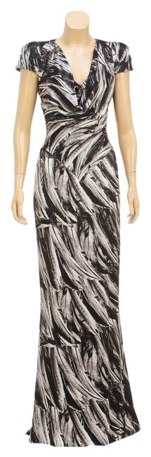 Black/White Maxi Dress by Alexander McQueen