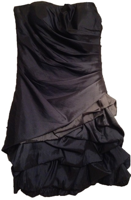 Jump Apparel Strapless Ruffle Dress