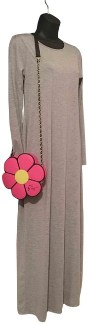 Item - Flower Child Pink and Yellow Faux Leather Shoulder Bag