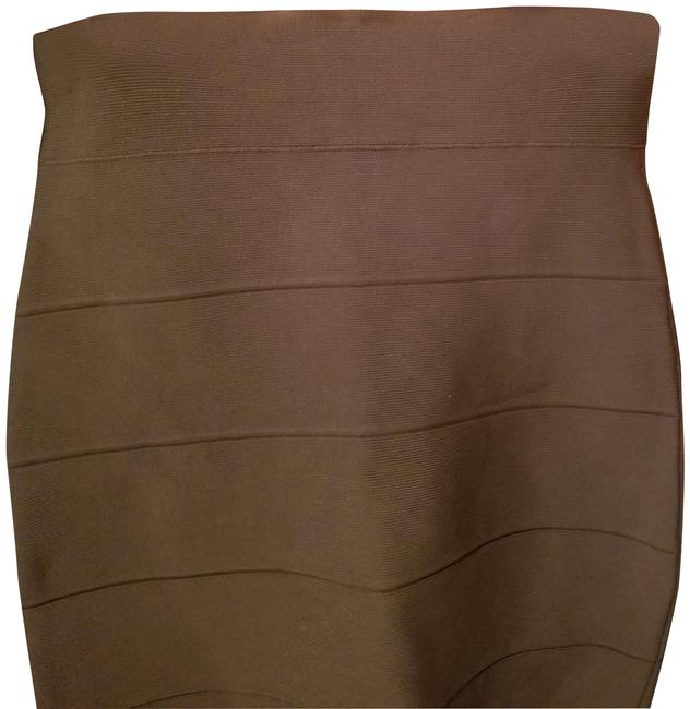 Item - Taupe Work It Skirt Size 6 (S, 28)