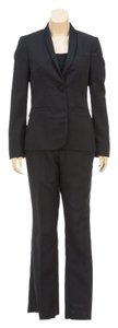 Gucci Gucci Black One Button Shawl Lapel Jacket and Pants Suit (Size 44)