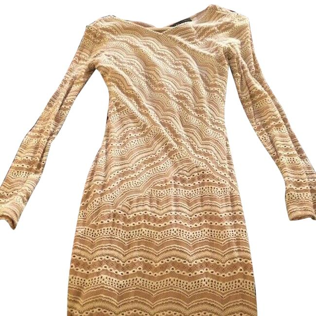 Item - Pink Cream Night Out Dress Size 4 (S)