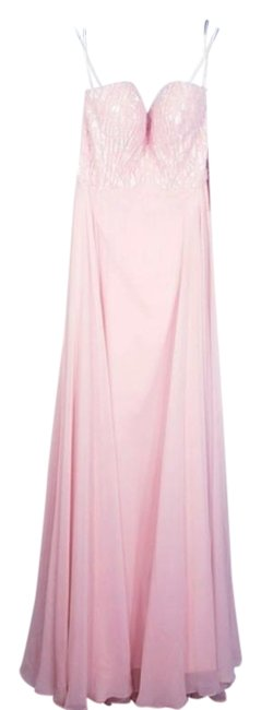 Item - Pink Magical Accented A-line Gown Long Casual Maxi Dress Size 6 (S)
