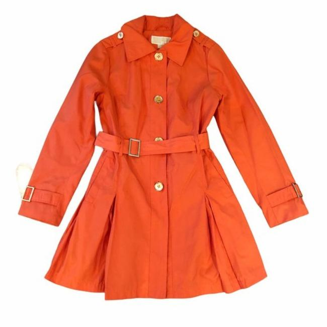 Item - Orange Belted Coat Size 8 (M)