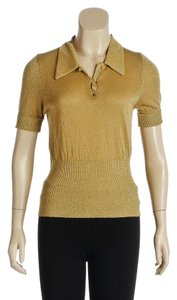 Bottega Veneta Top Gold