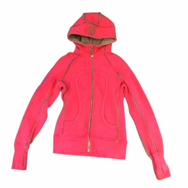 Item - Pink Scuba Special Edition Raw Edges Activewear Outerwear Size 4 (S)