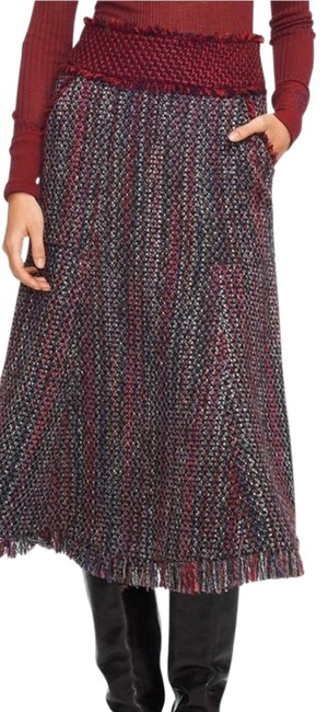 Item - Burgundy Eckly Skirt Size 0 (XS, 25)