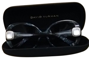 David Yurman Obsidian White Moon Sunglasses