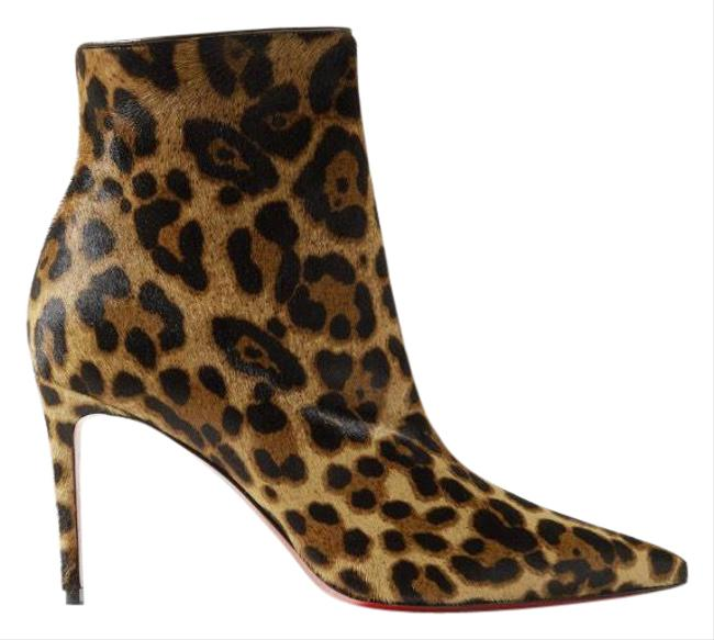 Item - So Kate 85 Leopard Printed Calf Hair Ankle Boots/Booties Size EU 40.5 (Approx. US 10.5) Regular (M, B)