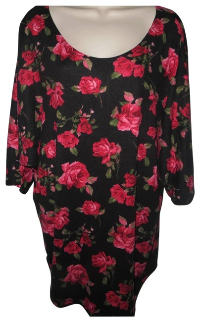 Item - New 2x Floral #5218*8 Blouse Size 22 (Plus 2x)