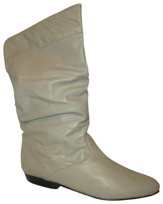 Item - Taupe Vintage Scrunch Cuff Able Leather Boots/Booties Size US 9 Regular (M, B)