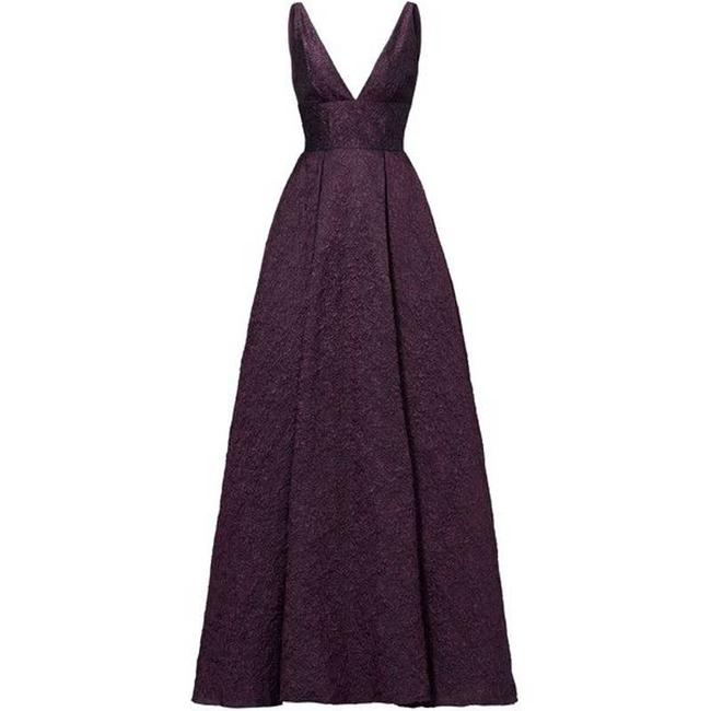 Item - Purple Deep Center Stage Gown Womens Msrp Formal Dress Size 4 (S)