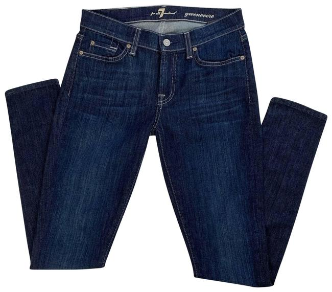 Item - Blue Gwenevere Skinny Jeans Size 27 (4, S)