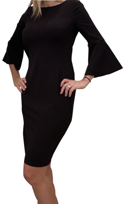 Item - Black Mid-length Night Out Dress Size 10 (M)