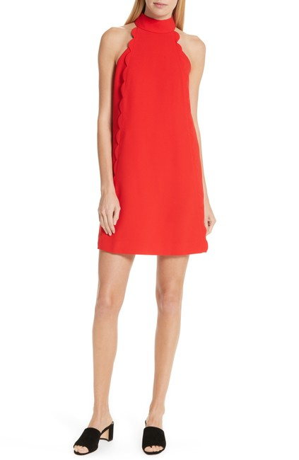 Item - Red London Torrii High Neck Tunic Short Night Out Dress Size 10 (M)