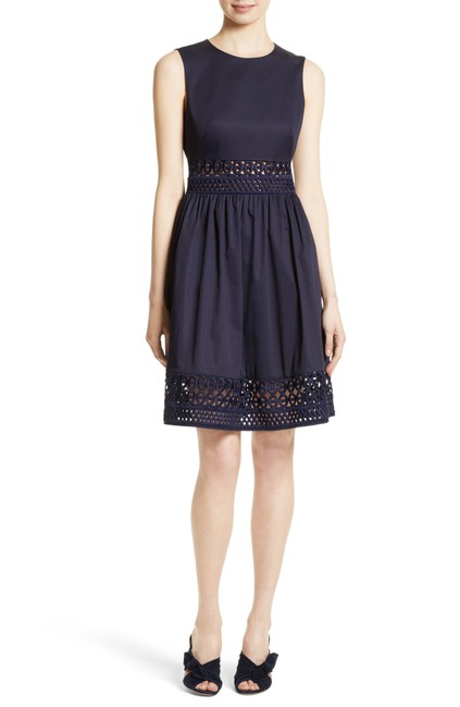 Item - Blue London Navy Dayzey Fit & Mid-length Night Out Dress Size 10 (M)