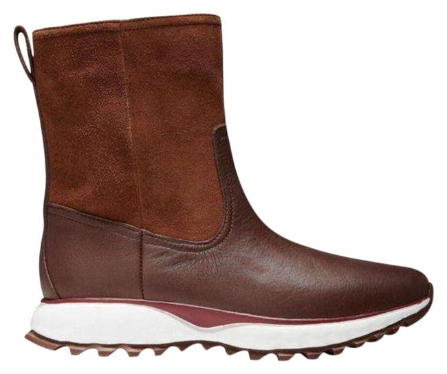 Item - Brown White ZerØgrand Xc Pull-on Harvest Suede 9m Boots/Booties Size US 9 Regular (M, B)