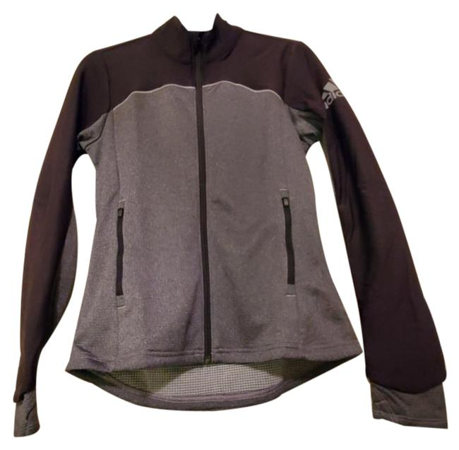 Item - Black & Gray Go-to Adapt Golf Jacket Outer Shell Water Resistant Protection Activewear Size 2 (XS)