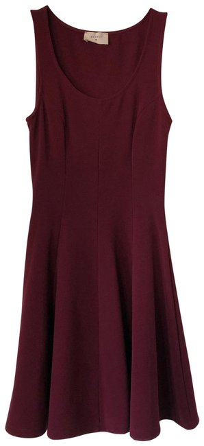 Item - Burgundy Cocktail Dress Size 0 (XS)