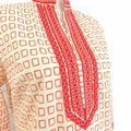 Tory Burch Coral Pink No Short Casual Dress Size 4 (S) Tory Burch Coral Pink No Short Casual Dress Size 4 (S) Image 4