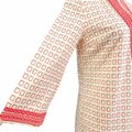 Tory Burch Coral Pink No Short Casual Dress Size 4 (S) Tory Burch Coral Pink No Short Casual Dress Size 4 (S) Image 5