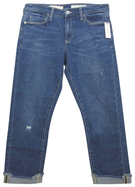 Item - Pilcro and The Letterpress Blue Medium Wash Slim Boyfriend Cut Jeans Size 30 (6, M)
