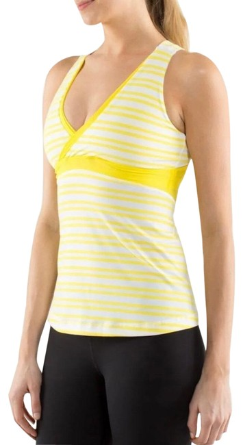 Item - Yellow Swizzle Shelf Bra Activewear Top Size 4 (S)