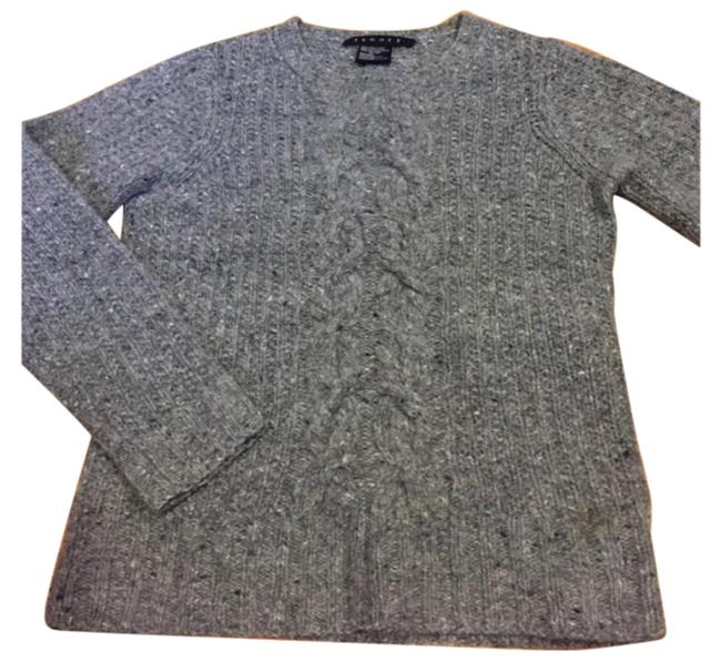 Item - Cable Knit Gray Sweater