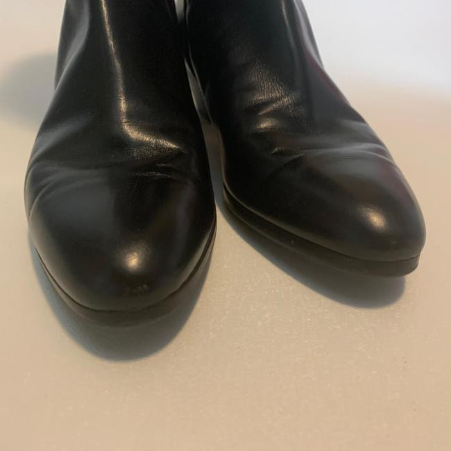 Salvatore Ferragamo Black For Saks Fifth Avenue Leather Riding Boots/Booties Size US 8 Narrow (Aa, N) Salvatore Ferragamo Black For Saks Fifth Avenue Leather Riding Boots/Booties Size US 8 Narrow (Aa, N) Image 4