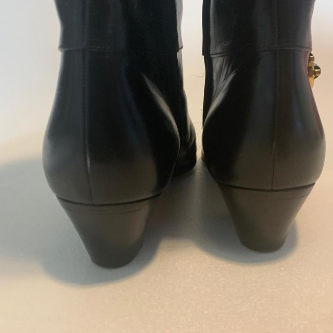 Salvatore Ferragamo Black For Saks Fifth Avenue Leather Riding Boots/Booties Size US 8 Narrow (Aa, N) Salvatore Ferragamo Black For Saks Fifth Avenue Leather Riding Boots/Booties Size US 8 Narrow (Aa, N) Image 8
