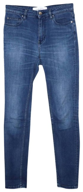 Item - Blue Medium Wash Adjuste 25r Skinny Jeans Size 25 (2, XS)