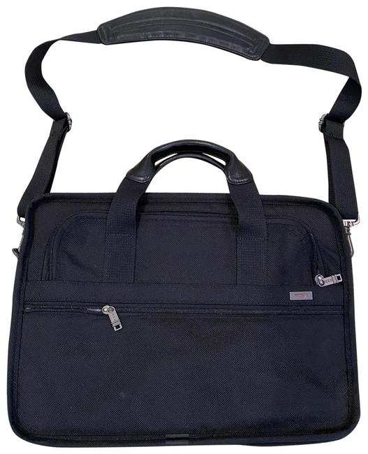 Item - Laptop Case Black Nylon Weekend/Travel Bag