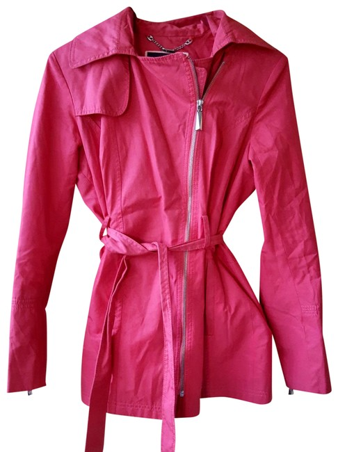 Item - Pink Hot Hooded Coat Size 4 (S)